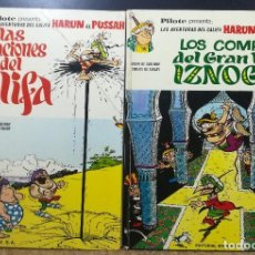 Cómics: LAS AVENTURAS DEL CALIFA HARUN EL PUSSAH 2 COMICS. Lote 153414558