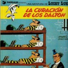 Cómics: MORRIS - LUCKY LUKE Nº 5 - LA CURACION DE LOS DALTON - EDICIONES JUNIOR 1979 2ª EDICION - MUY BIEN. Lote 153596450