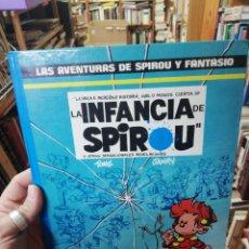 Cómics: LA INFANCIA DE SPIROU. LAS AVENTURAS DE SPIROU Y FANTASIO. Lote 153682578