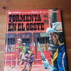 Cómics: TORMENTA EN EL OESTE. TENIENTE BLUEBERRY. . Lote 153785502