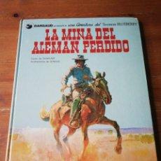Cómics: LA MINA DEL ALEMÁN PERDIDO. TENIENTE BLUEBERRY. . Lote 153785826