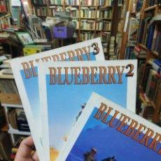 Cómics: LOTE 3 BLUEBERRY. BIBLIOTECA EL MUNDO. Lote 153836430
