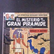 Cómics: EL MISTERIO DE LA GRAN PIRÁMIDE-LAS AVENTURAS DE BLAKE Y MORTIMER-EDGAR P. JACOBS-GRIJALBO-1983. Lote 153976190