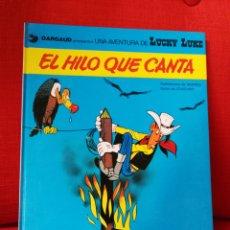 Cómics: LUCKY LUKE.EL HILO QUE CANTA.EDICIONES JUNIOR.1979. Lote 153982709