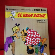 Cómics: LUCKY LUKE.EL GRAN DUQUE. EDICIONES JUNIOR.1977. Lote 153984316