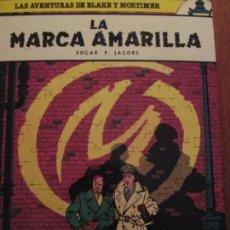 Cómics: BLACKE Y MORTIMER-LA MARCA AMARILLA. Lote 154188110