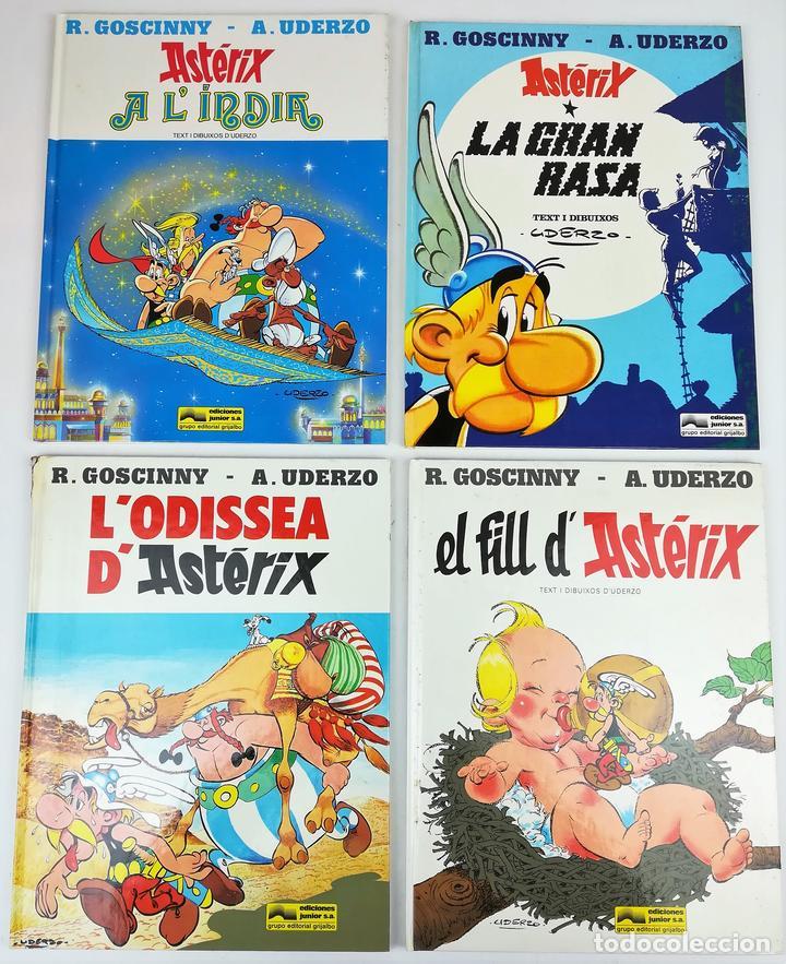 4 AVENTURAS DE ASTÉRIX. RENÉ GOSCINNY. EDITORIAL GRIJALBO. BARCELONA 1987 (Tebeos y Comics - Grijalbo - Asterix)