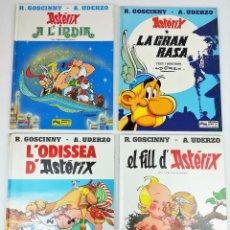 Cómics: 4 AVENTURAS DE ASTÉRIX. RENÉ GOSCINNY. EDITORIAL GRIJALBO. BARCELONA 1987. Lote 154264370