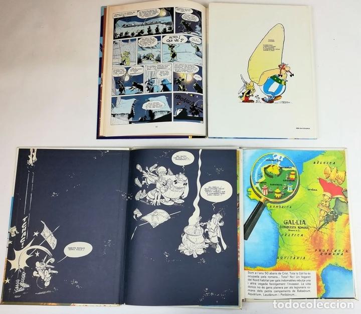 Cómics: 4 AVENTURAS DE ASTÉRIX. RENÉ GOSCINNY. EDITORIAL GRIJALBO. BARCELONA 1987 - Foto 2 - 154264370