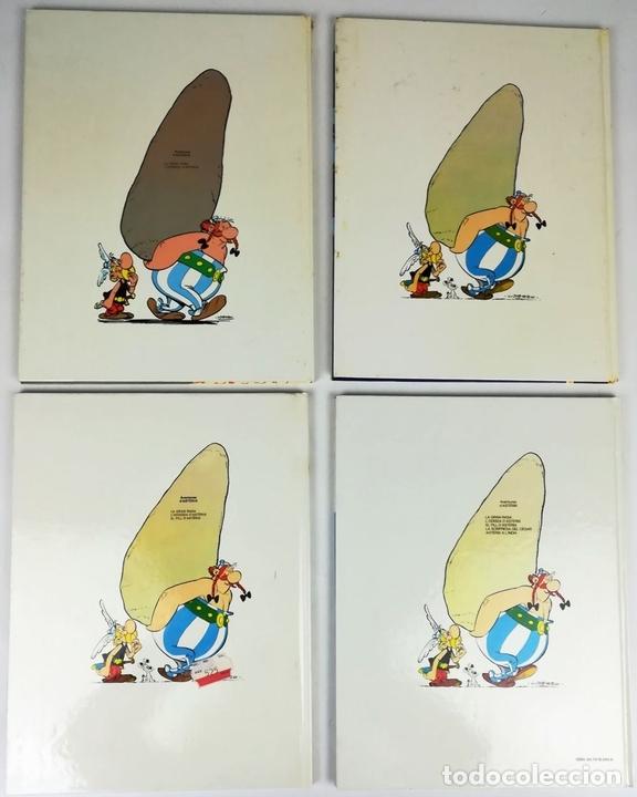 Cómics: 4 AVENTURAS DE ASTÉRIX. RENÉ GOSCINNY. EDITORIAL GRIJALBO. BARCELONA 1987 - Foto 4 - 154264370