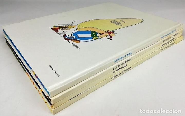 Cómics: 4 AVENTURAS DE ASTÉRIX. RENÉ GOSCINNY. EDITORIAL GRIJALBO. BARCELONA 1987 - Foto 5 - 154264370