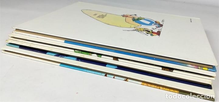 Cómics: 4 AVENTURAS DE ASTÉRIX. RENÉ GOSCINNY. EDITORIAL GRIJALBO. BARCELONA 1987 - Foto 6 - 154264370