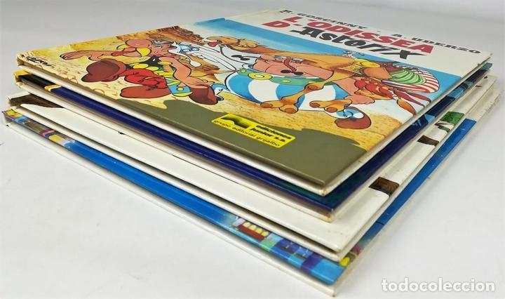 Cómics: 4 AVENTURAS DE ASTÉRIX. RENÉ GOSCINNY. EDITORIAL GRIJALBO. BARCELONA 1987 - Foto 7 - 154264370