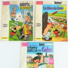 Cómics: 3 AVENTURAS DE ASTÉRIX. RENÉ GOSCINNY. EDITORIAL MOLINO. BARCELONA 1966. Lote 154270126