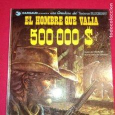Cómics: BLUEBERRY. Nº 8. EL HOMBRE QUE VALÍA 500.000 $. GRIJALBO. DARGAUD.1979.. Lote 154327318