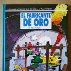 Comics : LAS AVENTURAS DE SPIROU Y FANTASIO: EL FABRICANTE DE ORO (JUNIOR/GRIJALBO, 1993). POR FOURNIER.. Lote 154363038