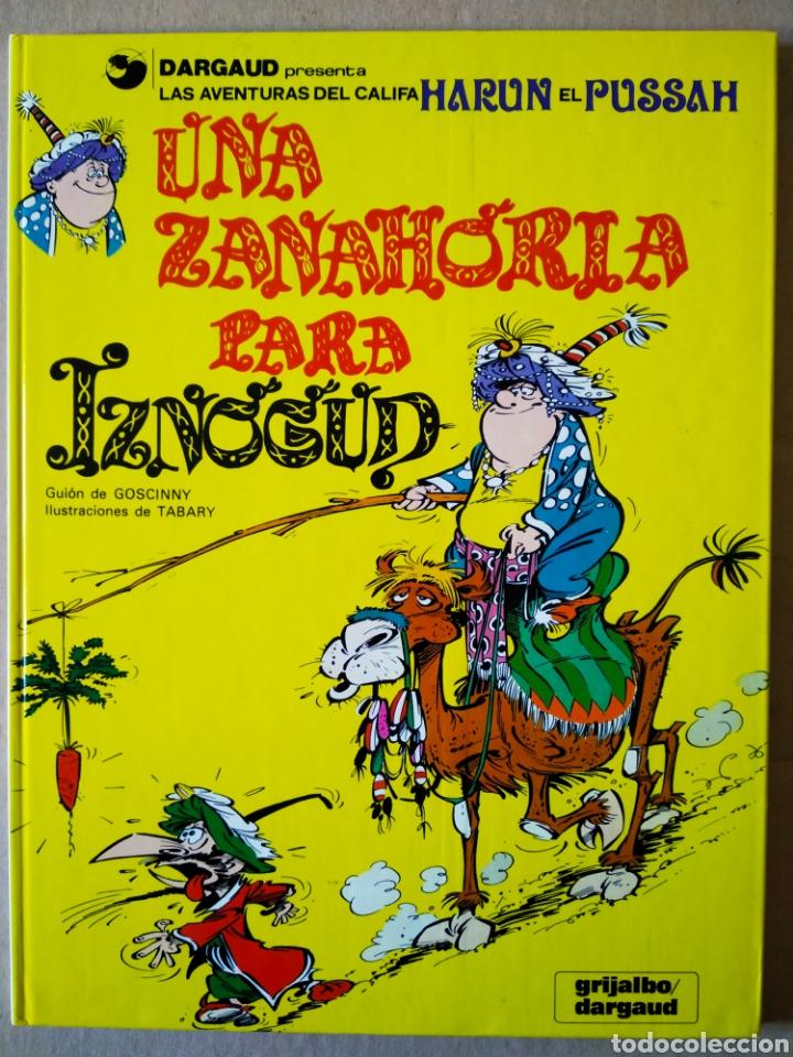 UNA ZANAHORIA PARA IZNOGUD (GRIJALBO/DARGAUD, 1990). POR GOSCINNY Y TABARY. (Tebeos y Comics - Grijalbo - Iznogoud)