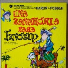 Cómics: UNA ZANAHORIA PARA IZNOGUD (GRIJALBO/DARGAUD, 1990). POR GOSCINNY Y TABARY.. Lote 154363114