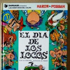 Cómics: IZNOGUD: EL DÍA DE LOS LOCOS (GRIJALBO/DARGAUD, 1990). POR GOSCINNY Y TABARY.. Lote 154363156
