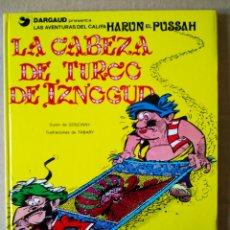 Cómics: LA CABEZA DE TURCO DE IZNOGUD (JUNIOR/GRIJALBO, 1979). POR GOSCINNY Y TABARY.. Lote 154363209