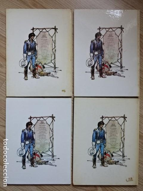 Comics: Lote 4 Teniente Blueberry hombre puño acero 5 pista Sioux 6 General cabellos rubios 9 Balada ataúd - Foto 4 - 154414642