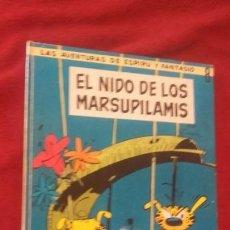 Comics : EL NIDO DE LOS MARSUPILAMIS - ESPIRU Y FANTASIO 8 - FRANQUIN -ED. JAIMES LIBROS - CARTONE. Lote 154477942