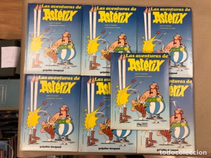 LAS AVENTURAS DE ASTERIX (7 PRIMEROS TOMOS CON 4 NÚMEROS CADA UNO). ED. GRIJALBO/DARGAUD 1980-1983. (Tebeos y Comics - Grijalbo - Asterix)