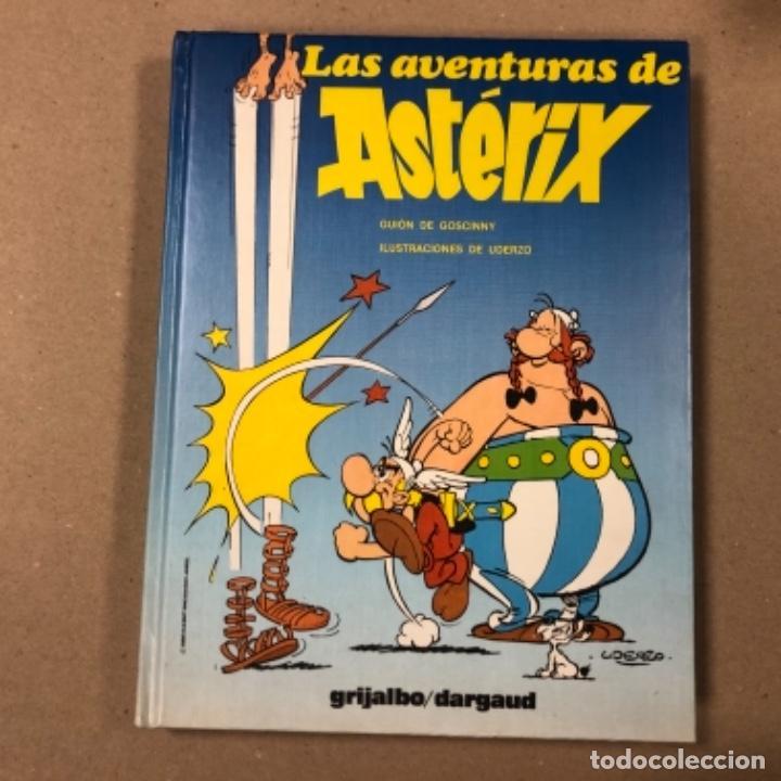Cómics: LAS AVENTURAS DE ASTERIX (7 PRIMEROS TOMOS CON 4 NÚMEROS CADA UNO). ED. GRIJALBO/DARGAUD 1980-1983. - Foto 9 - 154492610