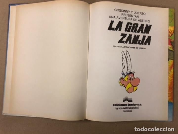 Cómics: LAS AVENTURAS DE ASTERIX (7 PRIMEROS TOMOS CON 4 NÚMEROS CADA UNO). ED. GRIJALBO/DARGAUD 1980-1983. - Foto 40 - 154492610