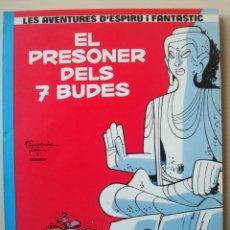 Cómics: EL PRESONER DELS 7 BUDES (LES AVENTURES D'ESPIRÚ I FANTÀSTIC Nº 12) RÚSTICA CATALÀ. Lote 154624962