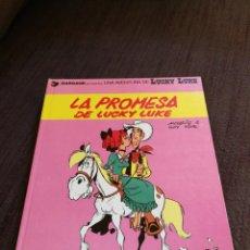 Cómics: LUCKY LUKE.LA PROMESA DE LUCKY LUKE.EN CATALÀ.. Lote 154658473