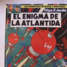 Cómics: LAS AVENTURAS DE BLAKE Y MORTIMER Nº 4 EL ENIGMA DE LA ATLANTIDA GRIJALBO. Lote 154711078
