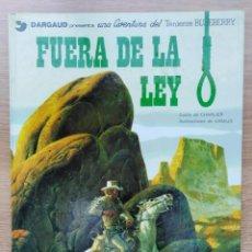 Cómics: EL TENIENTE BLUEBERRY. FUERA DE LA LEY. Nº 10. CHARLIER. GIRAUD. GRIJALBO. 1980. Lote 154712954