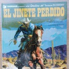 Cómics: EL TENIENTE BLUEBERRY. EL JINETE PERDIDO. Nº 19. CHARLIER. GIRAUD. GRIJALBO. 1982. Lote 154716046