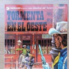 Cómics: EL TENIENTE BLUEBERRY. TORMENTA EN EL OESTE. Nº 17. CHARLIER. GIRAUD. GRIJALBO. 1982. Lote 154727670