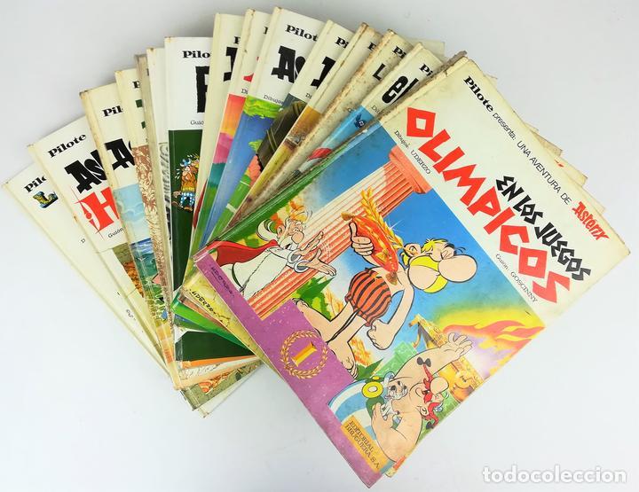 17 TOMOS AVENTURAS DE ASTÉRIX. RENÉ GOSCINNY. EDITORIAL BRUGUERA. BARCELONA 1972 (Tebeos y Comics - Grijalbo - Asterix)