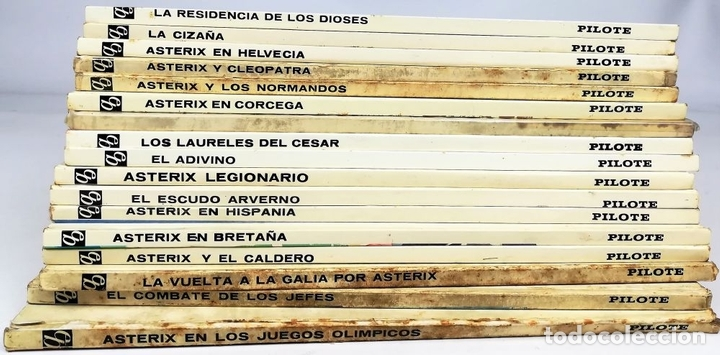 Cómics: 17 TOMOS AVENTURAS DE ASTÉRIX. RENÉ GOSCINNY. EDITORIAL BRUGUERA. BARCELONA 1972 - Foto 4 - 154772678