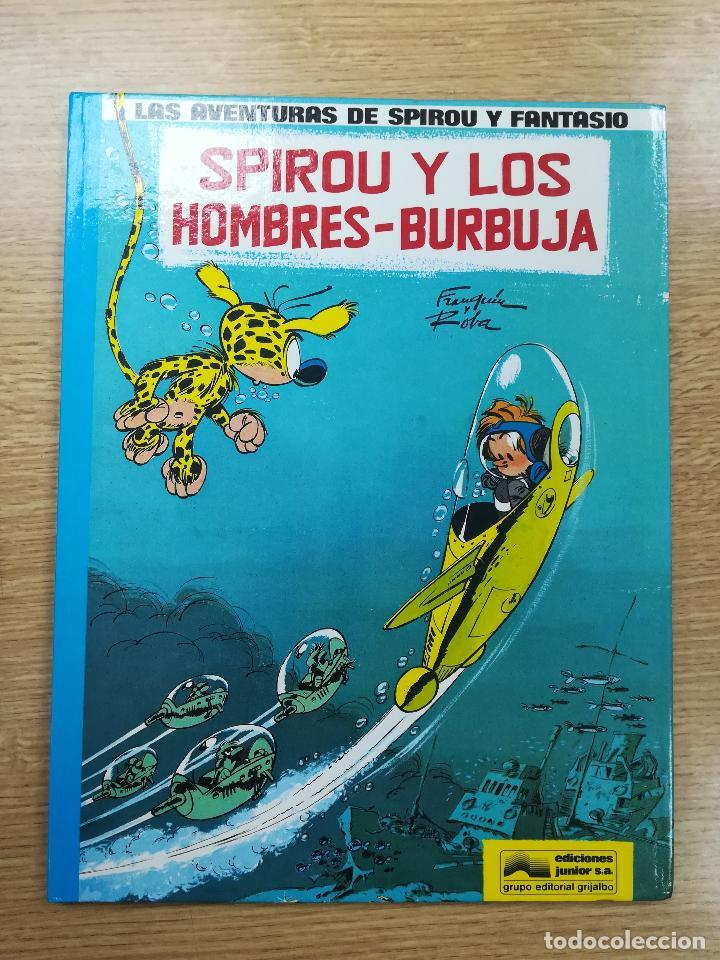 LAS AVENTURAS DE SPIROU Y FANTASIO #13 SPIROU Y LOS HOMBRES-BURBUJA (Tebeos y Comics - Grijalbo - Spirou)
