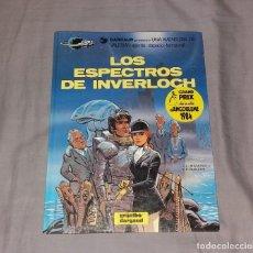 Cómics: COMIC/TEBEO. VALERIAN, Nº11 LOS ESPECTROS DE INVERLOCH. DARGAUD GRIJALBO, 1985, TAPA DURA. Lote 154813874