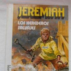 Comics : JEREMIAH. LOS HEREDEROS SALVAJES. GRIJALBO. HERMANN. Lote 154954482