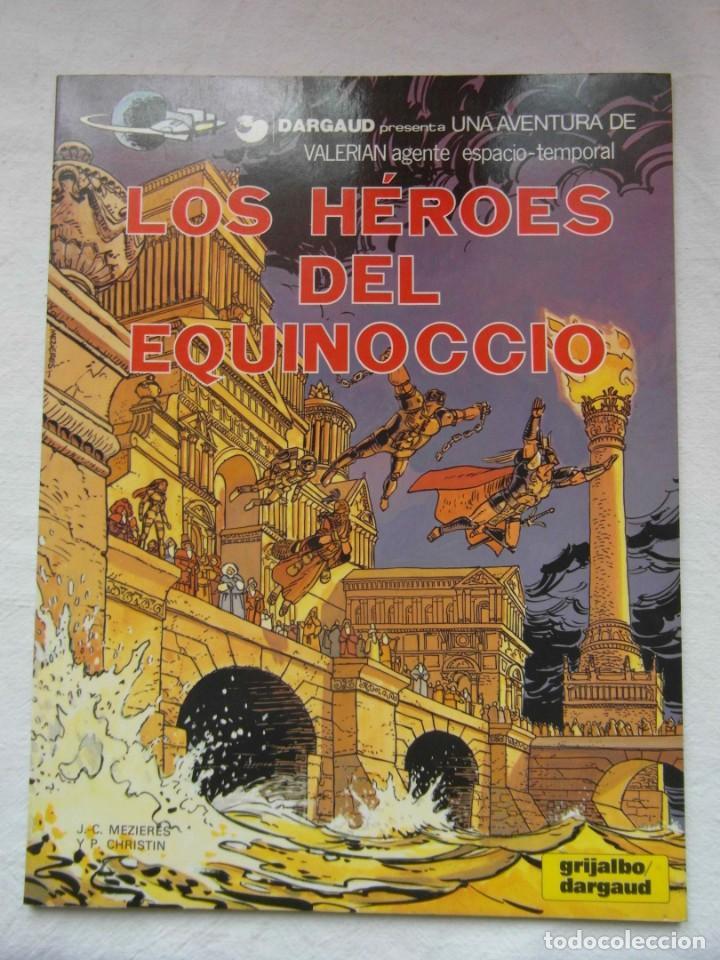 UNA AVENTURA DE VALERIAN. LOS HEROES DEL EQUINOCIO. GRIJALBO. TAPA BLANDA (Tebeos y Comics - Grijalbo - Valerian)