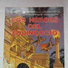 Cómics: UNA AVENTURA DE VALERIAN. LOS HEROES DEL EQUINOCIO. GRIJALBO. TAPA BLANDA. Lote 154966954