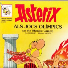 Cómics: ASTERIX ALS JOCS OLIMPICS - ASTERIX AT THE OLYMPIC GAMES - Nº 5 - INGLES - CATALAN. Lote 155050122