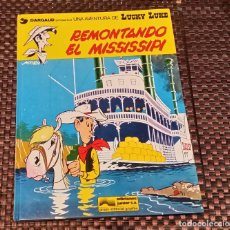 Cómics: REMONTANDO EL MISSISSIPI, LUCKY LUKE. Lote 155321454