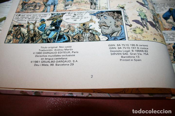 Cómics: NARIZ ROTA - TENIENTE BLUEBERRY - CHARLIER/GIRAUD - GRIJALBO/DARGAUD - 1981 - Foto 3 - 155323306