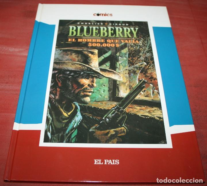 Cómics: EL HOMBRE QUE VALIA 500000 $ - TENIENTE BLUEBERRY - CHARLIER/GIRAUD - EL PAIS - 2005 - Foto 2 - 155323370