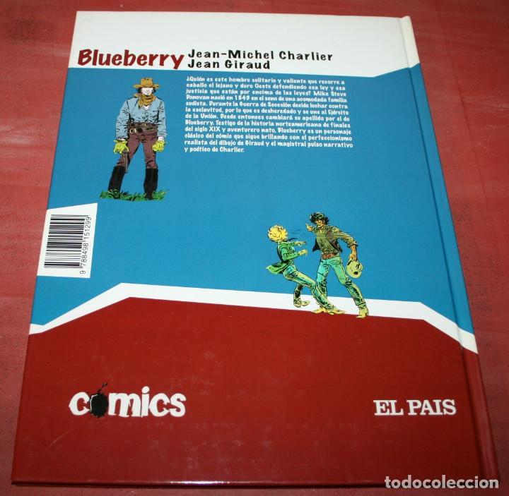 Cómics: BALADA POR UN ATAUD - TENIENTE BLUEBERRY - CHARLIER/GIRAUD - EL PAIS - 2005 - Foto 2 - 155323402
