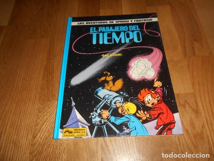 LAS AVENTURAS DE SPIROU Y FANTASIO - EL PASAJERO DEL TIEMPO #22 - TOME & JANRY - GRIJALBO 1990 (Tebeos y Comics - Grijalbo - Spirou)