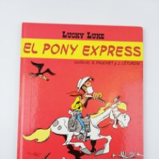 Cómics: LUCKY LUKE EL PONY EXPRESS SALVAT. Lote 155375278