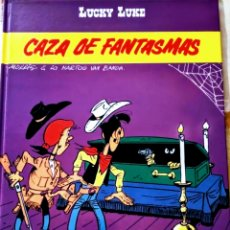 Cómics: LUCKY LUKE 54 CAZA DE FANTASMAS GRIJALBO DARGAUD. Lote 163341289